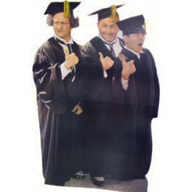 Three Stooges-Graduation Cardboard Cut Out