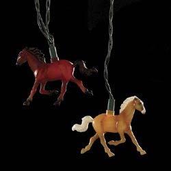 Running Horse Party Light Set (10 Indoor/Outdoor UL)