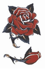 Vintage - 1940 Rose Tattoo