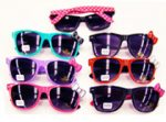 Kitty Sunglasses With Bow and Polka Dot Earpieces