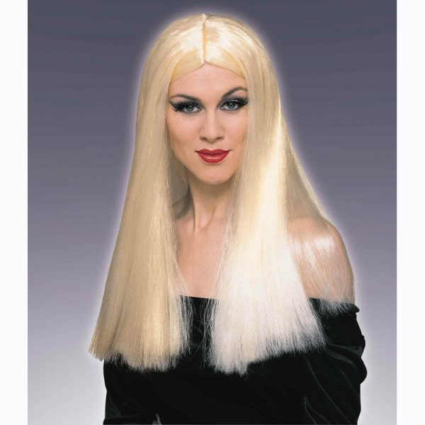 Ladies long blonde wig