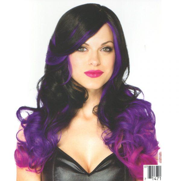 Allure Wig Black Purple
