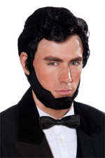 Abe Lincoln Wig and Beard set