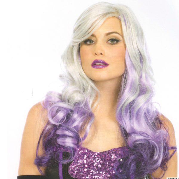 Allure Wig gray - Purple