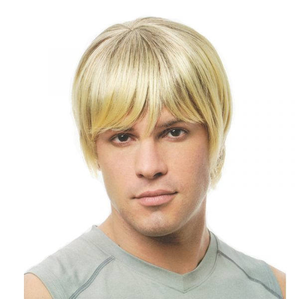 Mixed Blonde Dude Wig