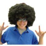 Jumbo Black Afro Wig