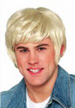 70's Dude Wig - Blonde