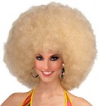 Afro Wig Blonde Giant size