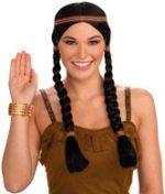 Native American Indian Princess Wig