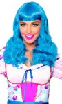 Party Girl Wig - Turquoise blue