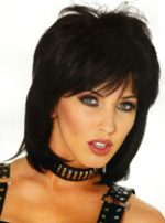 80s Cool Wig - Black