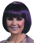 Cheerleader Wig - Indigo