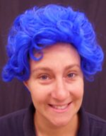 Nanna Wig - Bright Blue