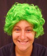 Nanna Wig - Lime Green