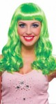 Party Girl Wig in Green Color - Irish Lass