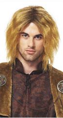 Medieval King Wig in Honey Blonde