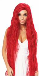 Fantasy Maiden Wig - Hot Red