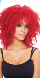 Coolness Wig - Hot Red