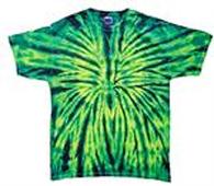 Tye Dye Tee Shirt - Wild Spider
