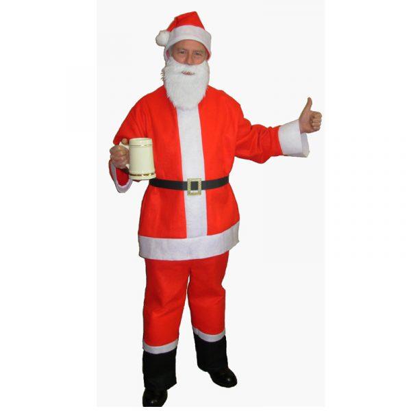 Saloon Spree Santa for Santacon