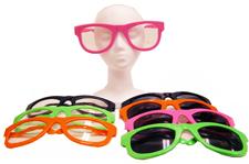 Extra Large Wayfarer Sunglasses and Eyeglasses