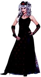 Prom Zombie Halloween Costume Dress