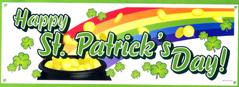 Happy St. Patrick's Day Sign