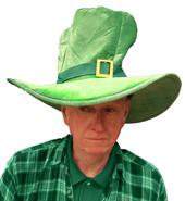 Jumbo Leprechaun Hat w/Buckle