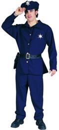 policeman plus size halloween costume
