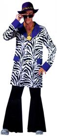 Zebra Print Zoot Jacket