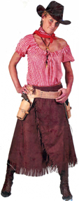 Tumbleweed Sarah Ladies Cowgirl Costume