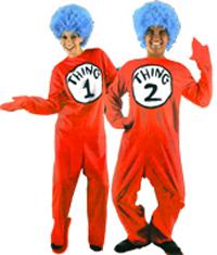 Thing 1 Thing 2 Halloween Costume