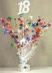 18th birthday or anniversary Balloon wieght Centerpiece