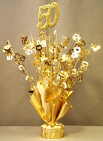 Gold All Purpose White Card Receiving Box 18th Birthday Or Anniversary Balloon Wieght Centerpiece