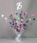 """Multi Colored """"75"""" Balloon Centerpiece"""