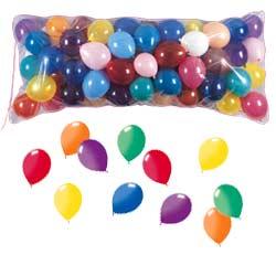 Clear Plastic Balloon Drop Bag