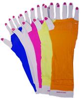 Long Mesh Top Gloves
