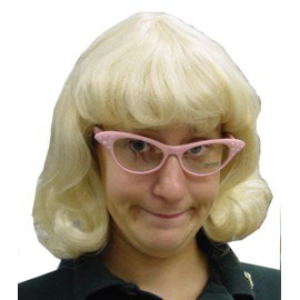 Joan - Bloned Flip Wig