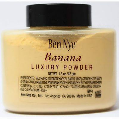 Banana luxury powder Ben Nye