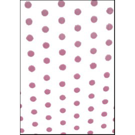 Medium Cello Bags, Dots Pink