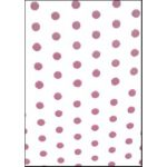 Large Cello Bags, Dots Pink