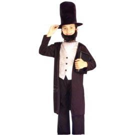 Abe Lincoln Costume Child Size