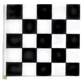 Checkered Flag Black And White
