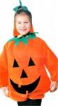 Plush Kids Pumpkin Costume