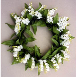 buy lily of valley candle ring wedding decoration cappel s
