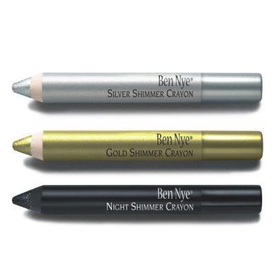ben nye shimmer crayons