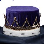 King's Purple Velvet Crown