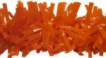 "Orange Decorating Garland, 4"" x 15'"