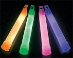 "Party Glow 6"" Light Sticks"
