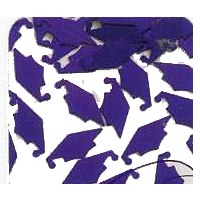 Mortarboards Confetti, Available in 8 Colors!